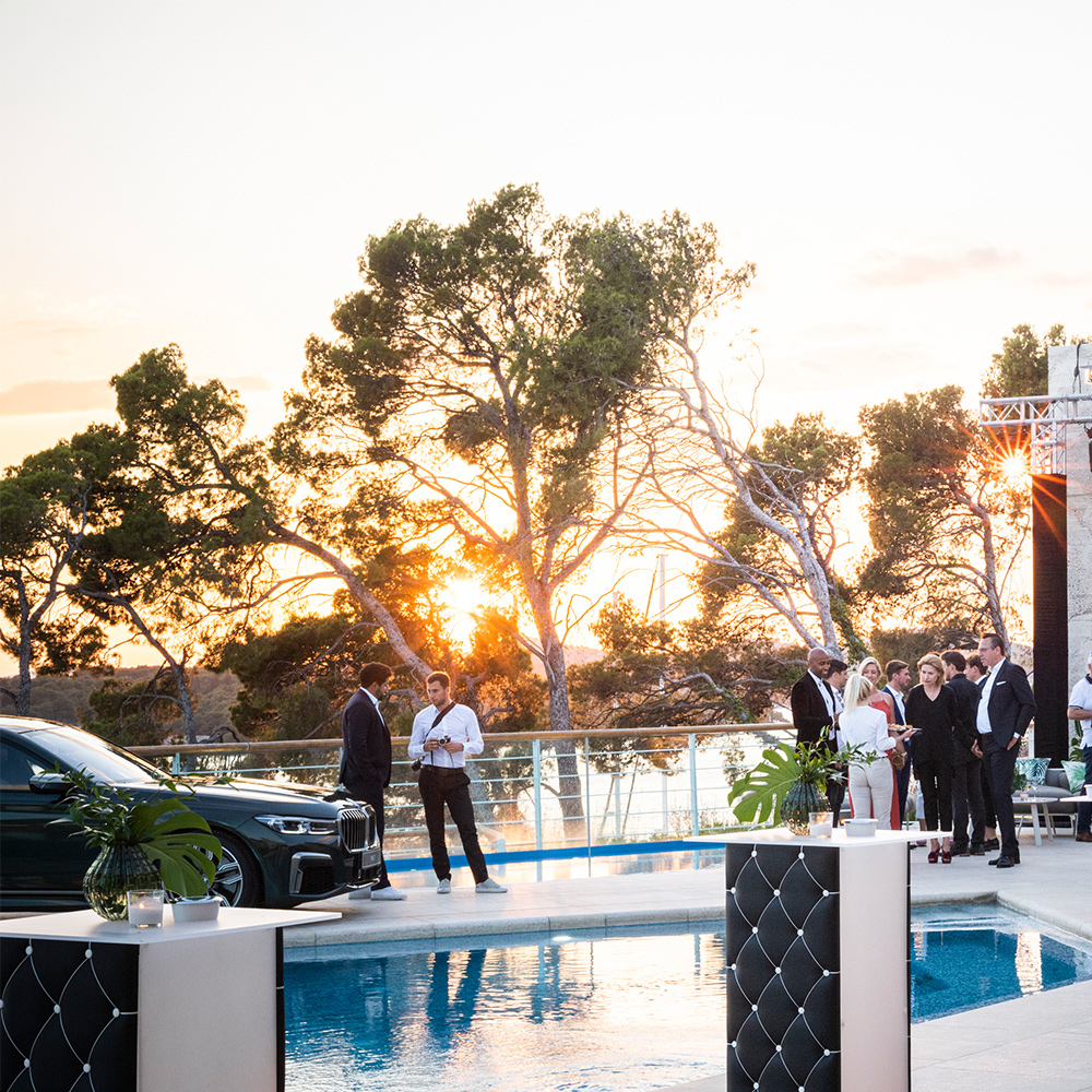 003 bmw driving luxury 2019 welcome pool d resort sibenik event the 7 the x7 the 8 kroatien croatia eventstyling