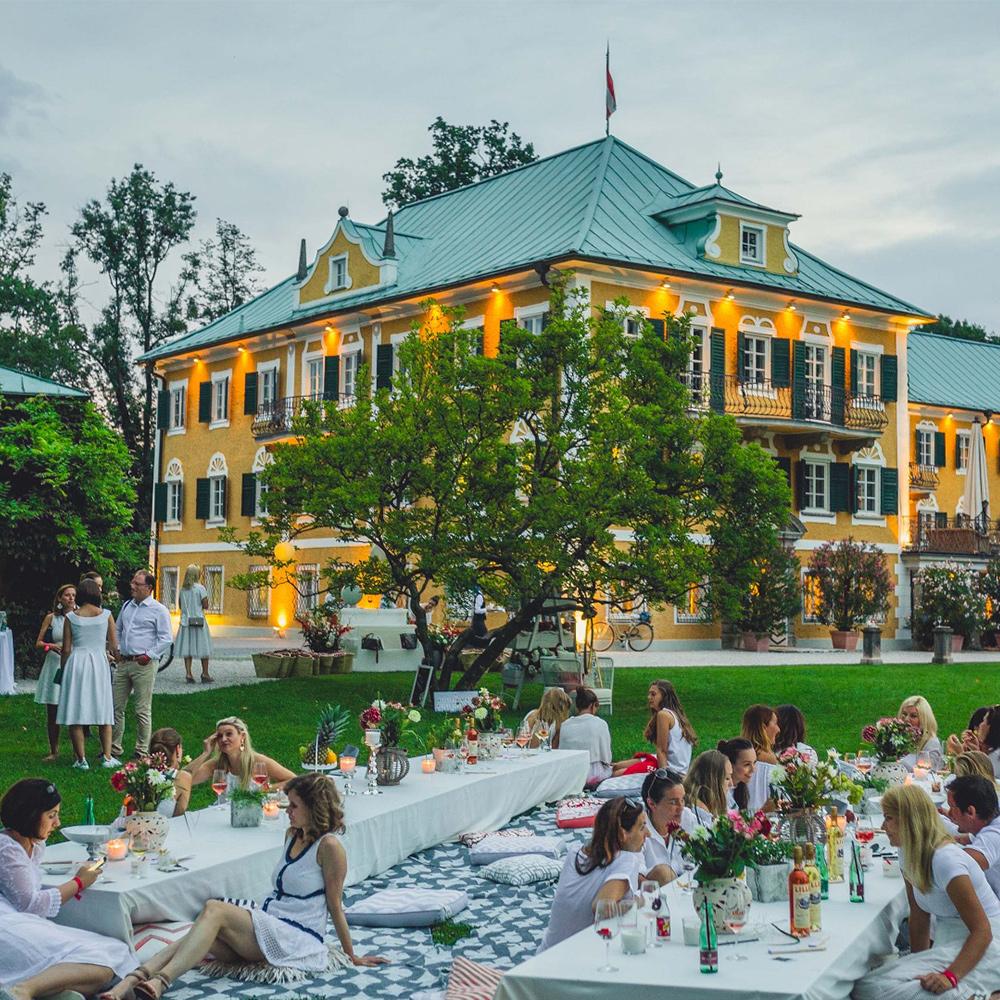 008 pernod ricard gwandhaus salzburg lillet picknick sommer park wiese dresscode white eventstyling